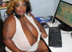 Black Granny-programer with huge..