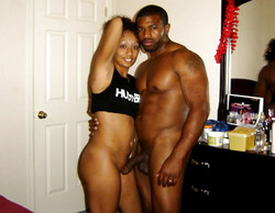 Busty ebony wives self-shot naked photos