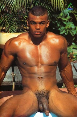 Well-hung ebony gay dudes don't mind..