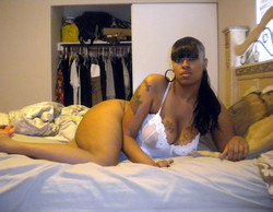 Ebony GFs whoring their bodies on cam